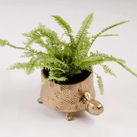 Tortoise Planter - New Bronze