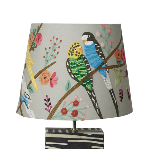 Tapered Shade - Budgerigar - Multicolour