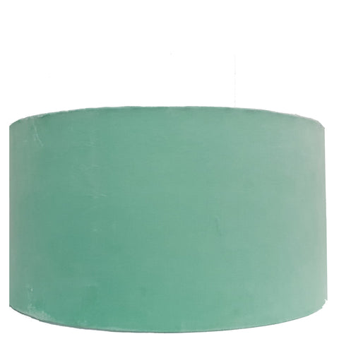 Drum Lampshade - Aquamarine