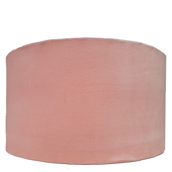 Drum Lampshade - Pale Pink