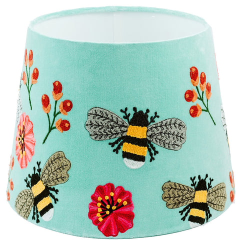 Tapered Shade - Bumble Bee - Turquoise / Multi