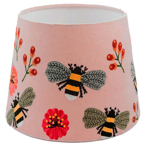 Tapered Shade - Bumble Bee - Pale Pink / Multi