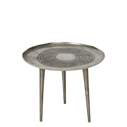 Occasional Table - Small - Antique Nickel