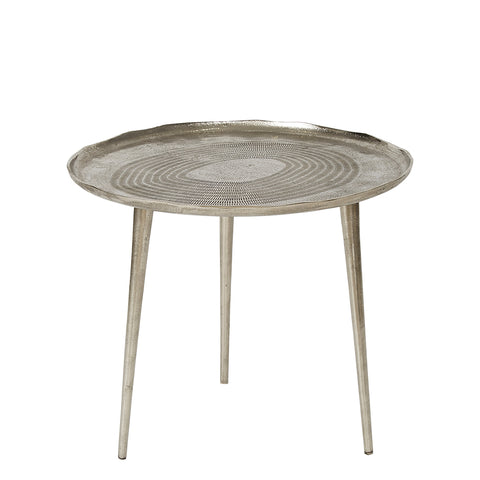 Occasional Table - Medium - Antique Nickel