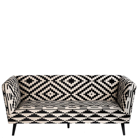Atelier Sofa - Black / White