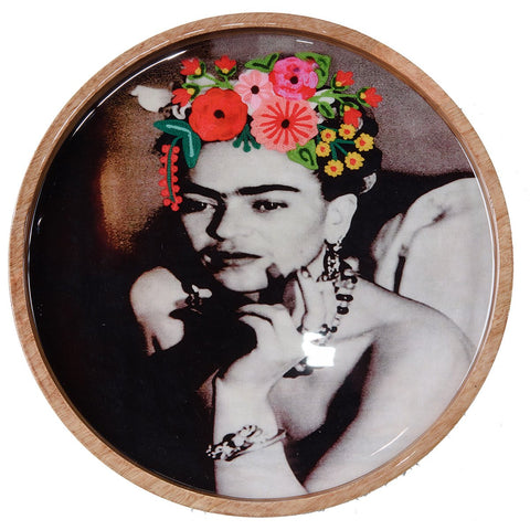 Frida Tray - Evening Dress - Sepia