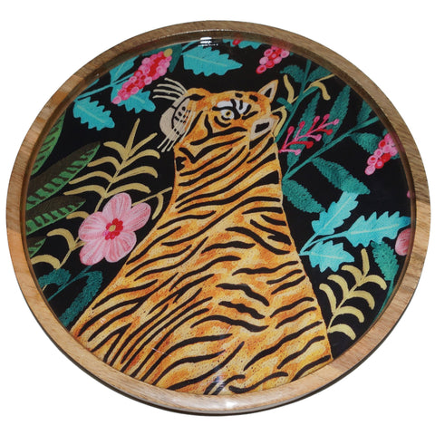 Tiger Tray - Hunting - Black Multi