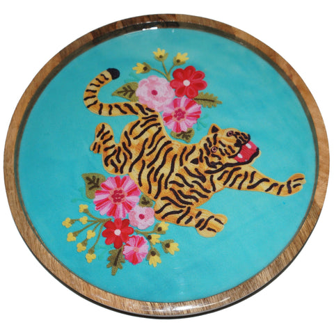 Tiger Tray - Blossom - Turquoise Multi