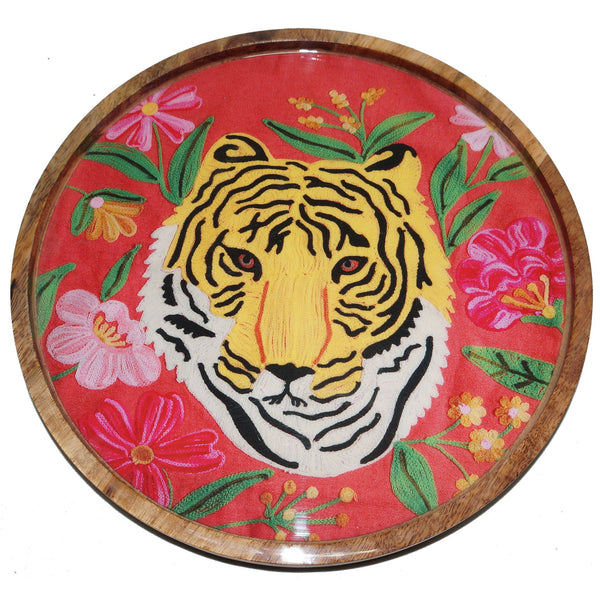 Tiger Tray - Portrait - Orange Multi