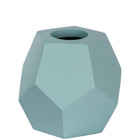 Honeycomb Vase - Pentagon - Blue