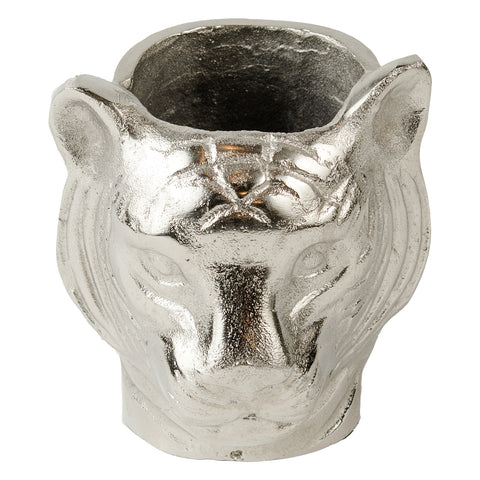 Tiger Vase - Raw Nickel