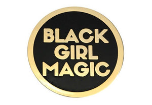 Black Girl Magic Lapel Pin