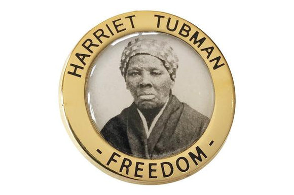 Harriet Tubman Freedom Lapel Pin