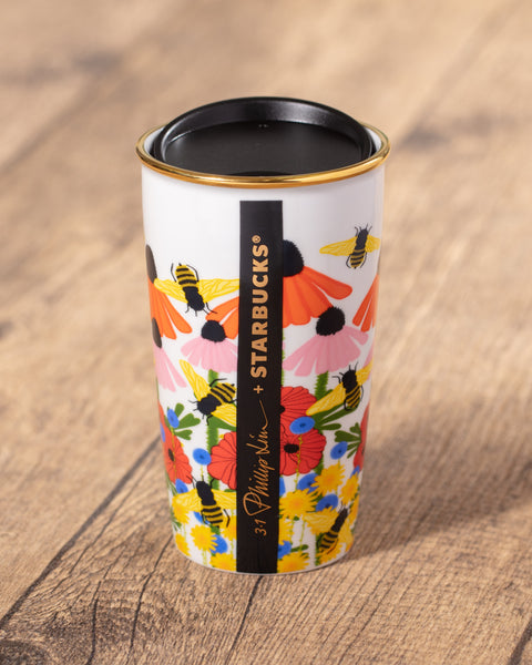 12oz PHILLIP LIM Floral Double Wall Mug