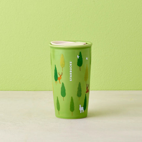 12oz Walk in the Forest Double Wall Mug
