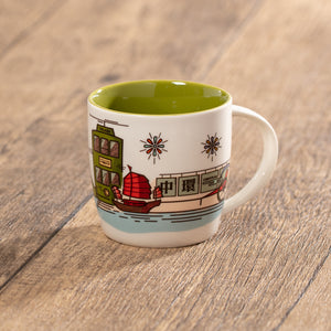 12oz Vintage Hong Kong Central Mug