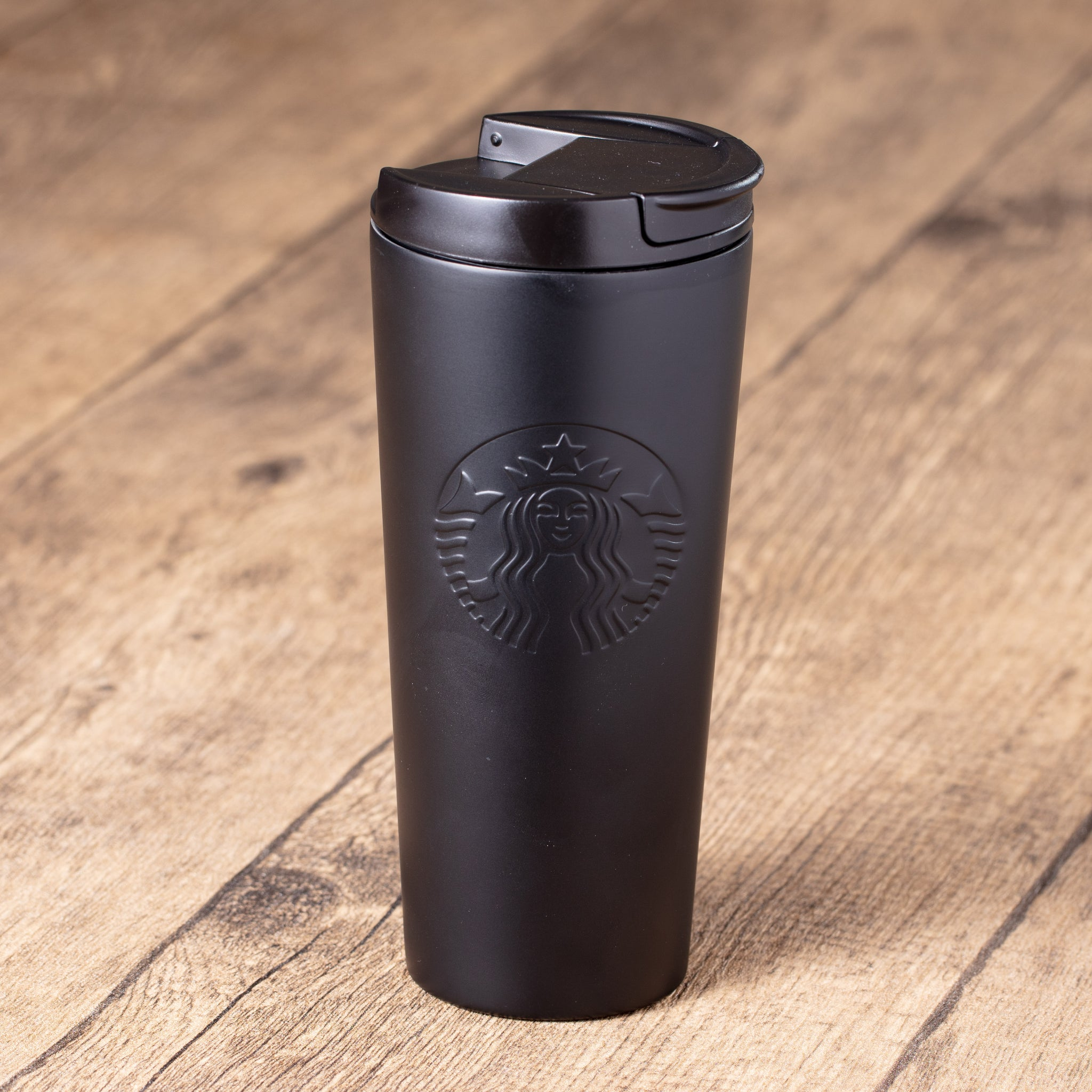 16oz Timeless Black Classic Stainless Steel Tumbler