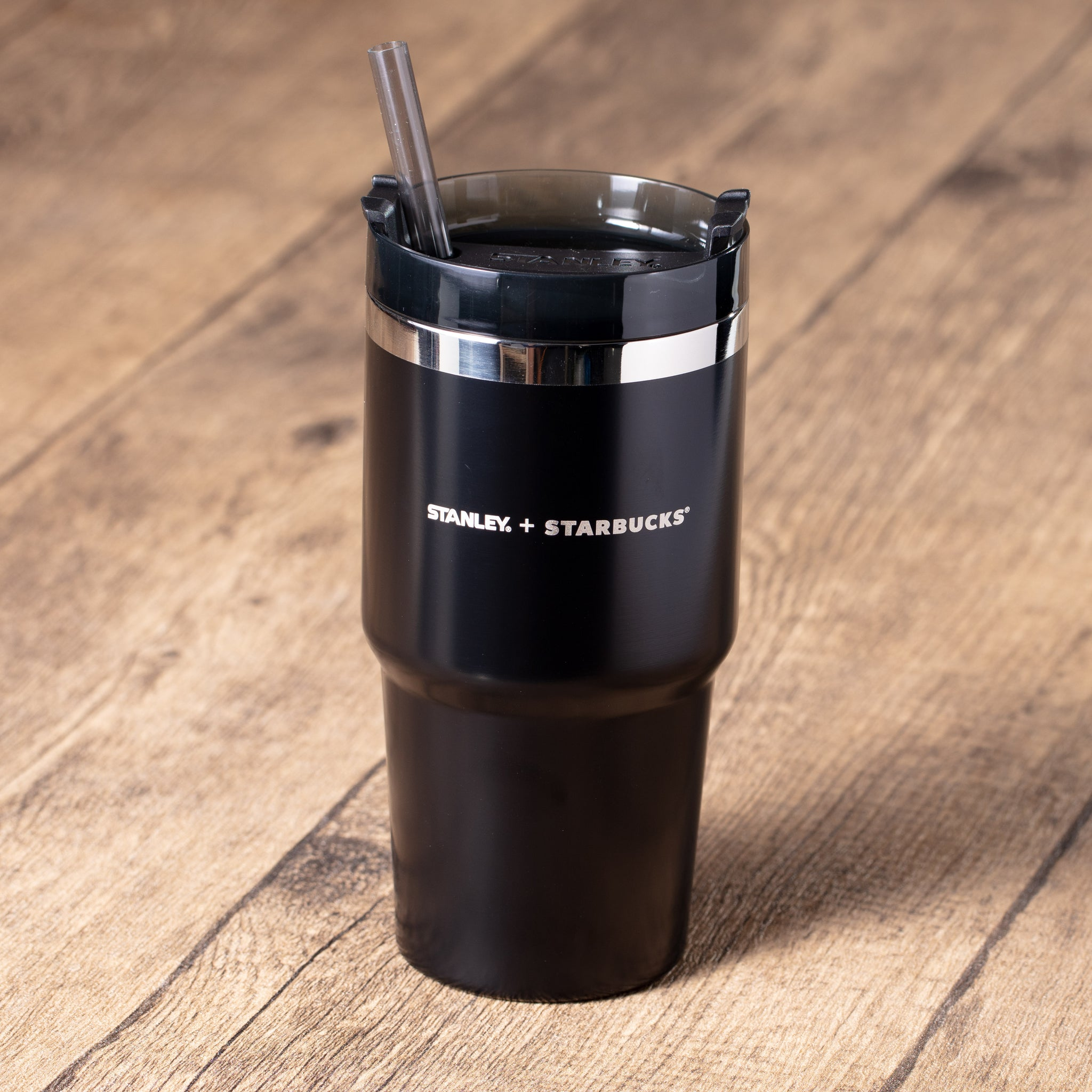 20oz Starbucks x Stanley Black Adventurer Stainless Steel Tumbler