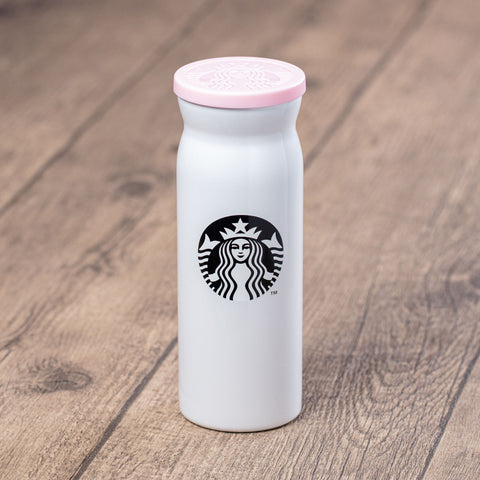 12oz Pearl Sakura Moment Stainless Steel Tumbler