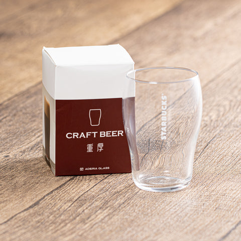 255mL ADERIA Japan Craft Beer Glass - 重厚