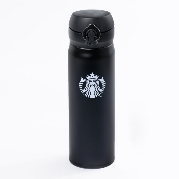 16.9oz Black Thermos Stainless Steel Tumbler