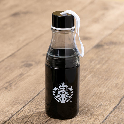 17oz Black with Siren Water Bottle