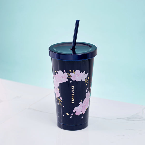 Spring21 Sakura Wreath Stainless Steel Cold Cup 18oz 櫻花見頃不鏽鋼凍杯