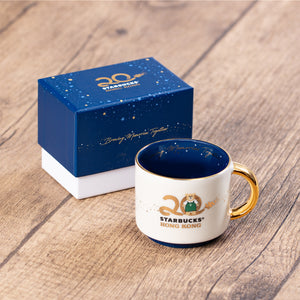 3oz Starbucks HK 20th Anniversary Bearista Mug
