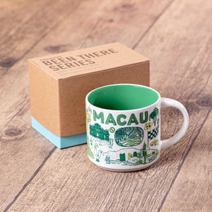 Macau Been There Collection -  14oz Ceramic Mug with Gift Box