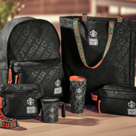 Starbucks x Herschel Supply Co. Collection (Whole Set)