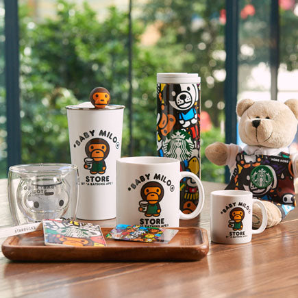Starbucks Hong Kong x *BABY MILO® STORE Merchandise Collection (Whole Set)