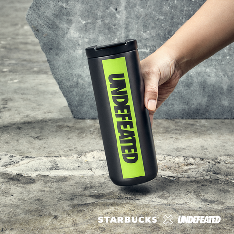 16oz Starbucks x Undefeated Stainless Steel Tumbler