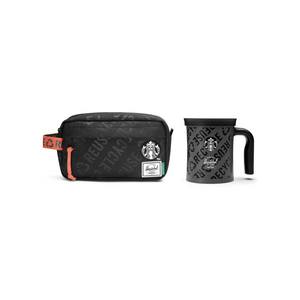 Starbucks x Herschel Supply Co. 12oz Stainless Steel Mug & Chapter Carry Bag Set