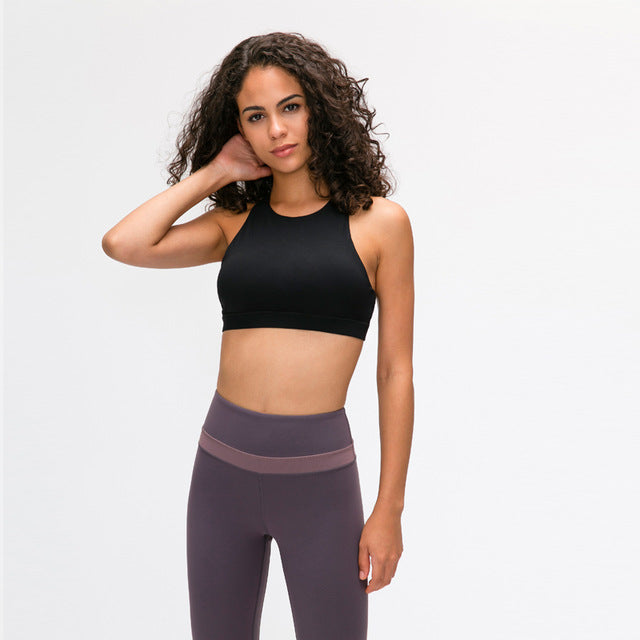Strappy Sports Bra Breathable