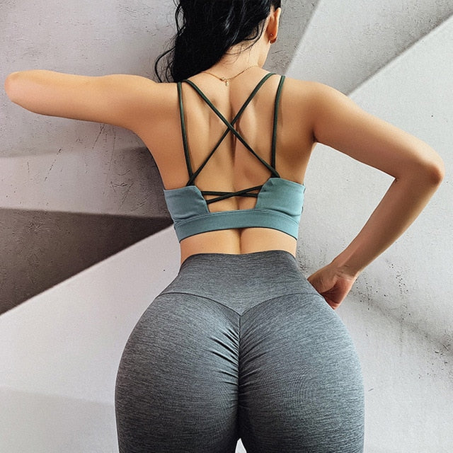 Backless Gym Crop Top