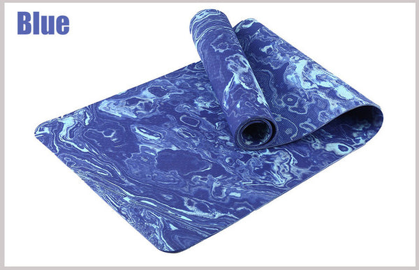 Eco Friendly TPE Yoga Mat with Free Bag