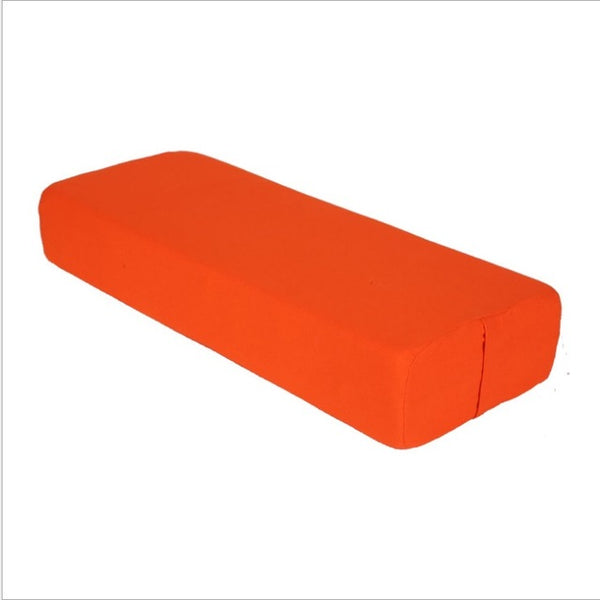 Cotton Cover Yoga Pillow