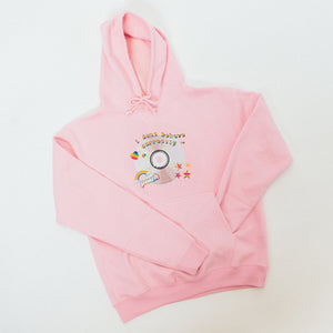 Peach 'I Don't Behave Correctly' Hoodie