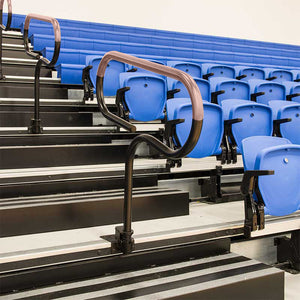 ANTIMICROBIAL COPPER ARENA BLEACHER HANDRAIL COVERS