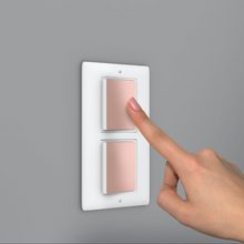 Load image into Gallery viewer, ANTIMICROBIAL COPPER LIGHT SWITCH COVER - $1.35 Each Available only in a 20 Pack