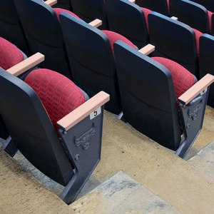 ANTIMICROBIAL COPPER ARENA SEATING HAND REST COVERS