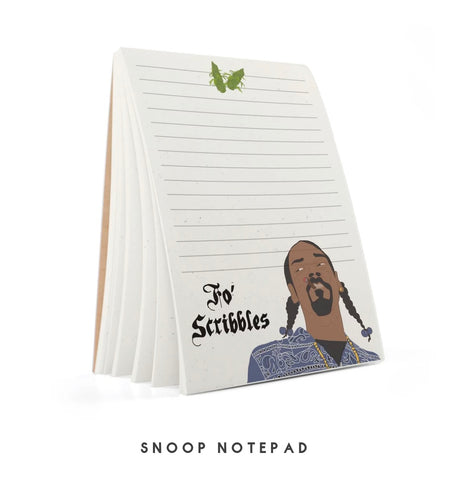 """Fo' Scribbles"" Snoop Dogg Tayham Notebook"