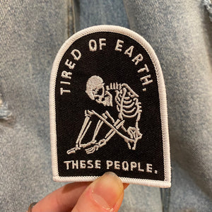 Tired of Earth Skeleton Patch
