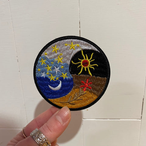 Seasons Yin Yang Patch
