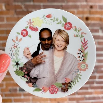 Snoop Dogg & Martha Stewart  BFF Sticker