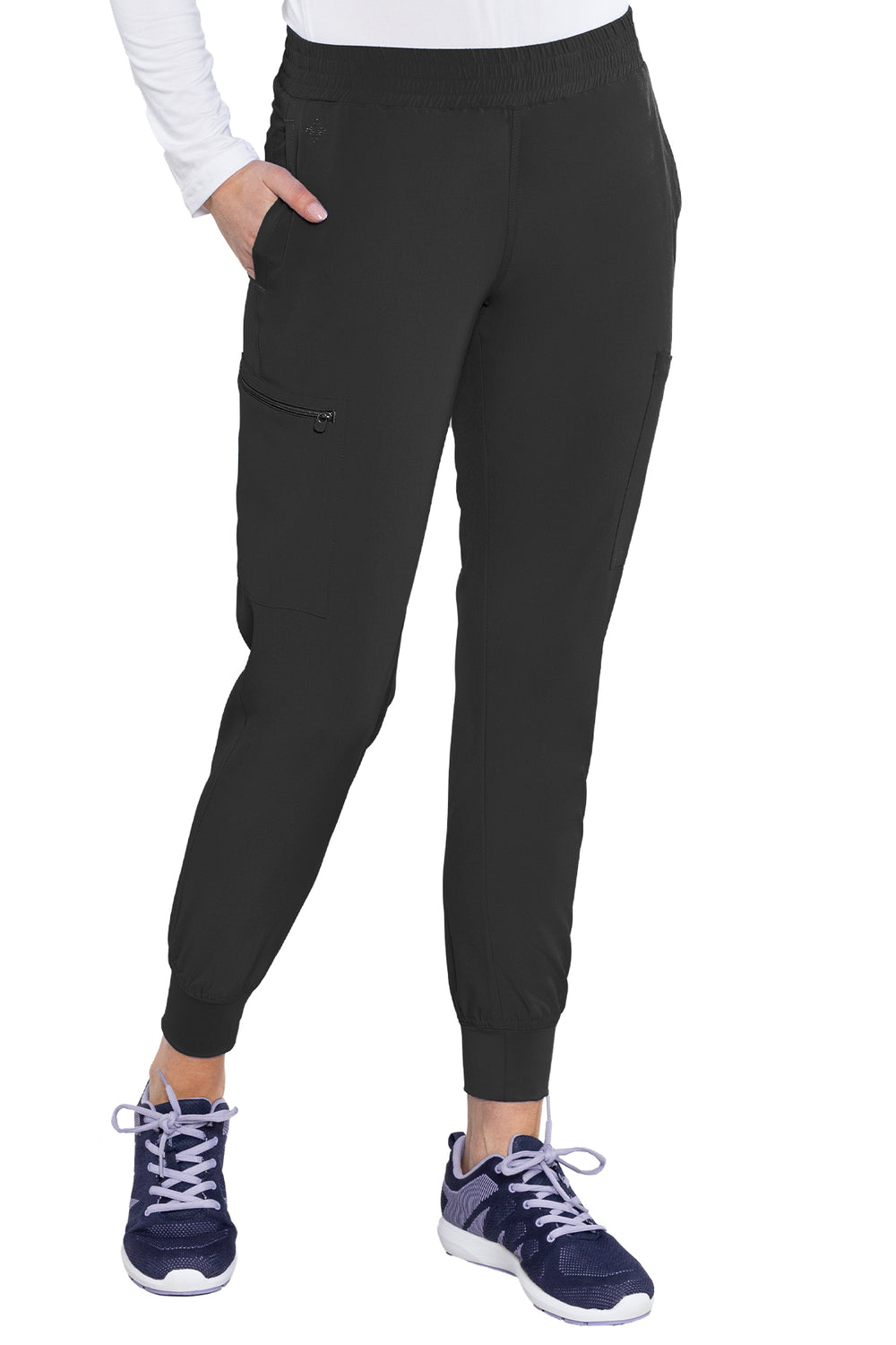 Med Couture Smocked Waist Jogger(Tall)