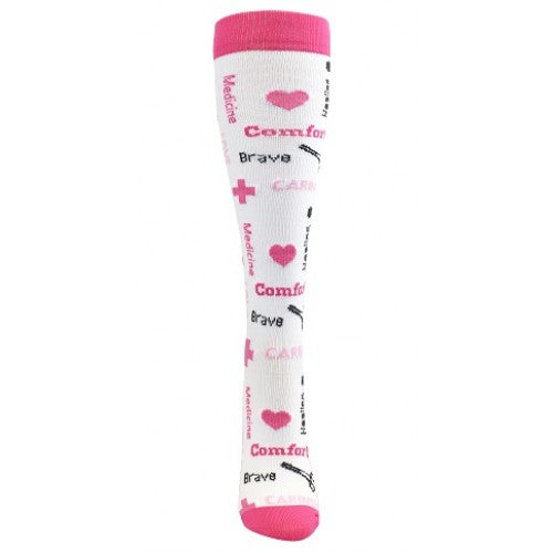 Inspirational Fashion Compression Sock