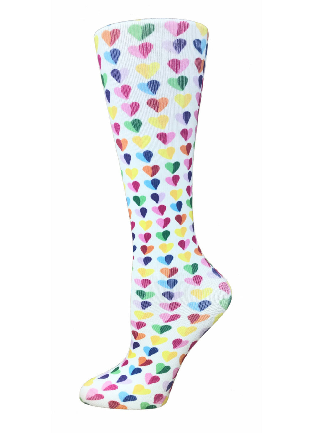 Printed Compression Socks – Sweethearts(Wide)