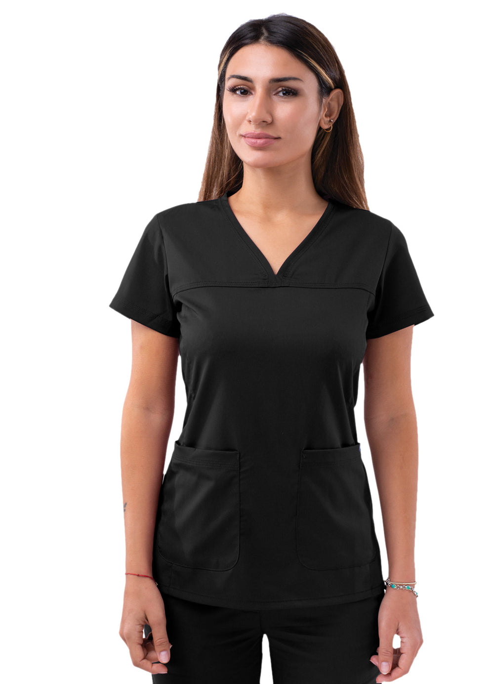Adar Sweetheart V-neck Scrub Top - My Favorite Scrubs