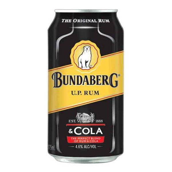 Bundaberg Rum & Cola Can
